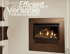 Empire Mantis Gas Fireplace 90%+ Fireplace or Stove - Insert/In Wall Bay or Flat