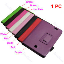 Hot Sale Litchi Pattern Synthetic Leather Stand Case For Asus ME-371 Tablet