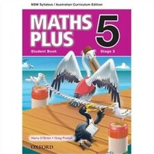 NEW Maths Plus NSW Australian Curriculum Edition Student Book 5 by Harry O'Brien