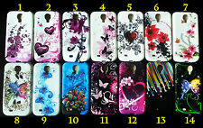 NEW Samsung Galaxy S4 S 4 IV i9500 Soft Gel Silicone Case Cover - Many Designs!