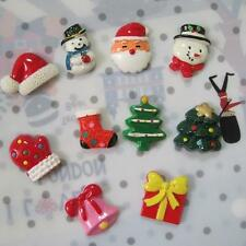 1 pc Christmas Santa Snowman Creative Refrigerator Magnets Resin Magnet Sticker