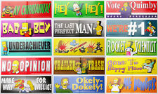 SIMPSONS Mega Bumper Sticker Collection - All Your Favourite Characters - NEW