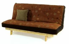 ON SALE NOW!! Armless Full Size Pine Wood Futon Frame With Full Sized Mattress I