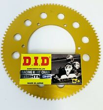 DID DHA Chain 114 Link & Sprocket for Kart 219 - Best Price- TKM - Rotax -