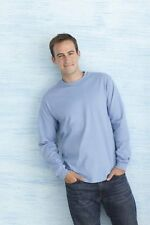 Mens Gildan Ultra Cotton Long Sleeve T-Shirt, 22 Colours Available--