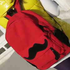 New Fashion Backpack Moustache Eye Womens Schoolbag Student Handbag Travel Hot!A