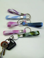 KEYRING ** S T V W Z Name Band customised gift Stacey Taylor Zoe. +Many More !.