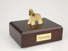 Afghan Hound Pet Funeral Cremation Urn Available in 3 Different Colors & 4 Sizes