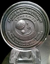 Apollo 14 Flown in Space Material Medallion (NASA Moon Flown)
