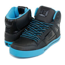 DC SPARTAN HI WC MENS HIGH TOP SKATE SHOES TURQUOISE / BLACK