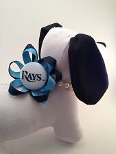 Collar Flower Embellishment/Collar Jewelry for Dogs or Cats/ Tampa Bay Ray's