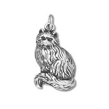Silver .925 Cat & Kitten Charms-Cat with Moving Tail, Cat with Yarn, Kitty Bowl