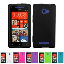 Silicone Soft Protector Gel Skin Case Cover for HTC Windows Phone 8X 6990LVW