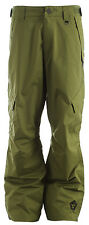 Sessions Achilles Shell Snowboard Pants Olive Mens