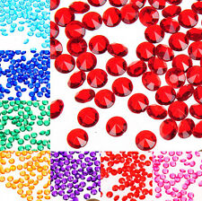 6mm Crystal Diamond Confetti Wedding Favor Party Table Decoration Optional Qty
