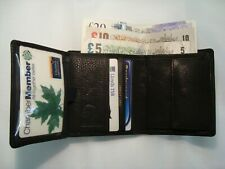 Soft Cow Calf Leather Man's Jacket Coat Travel Wallet Large Tall Size