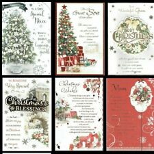 BEAUTIFUL TRADITIONAL ~ CHRISTMAS CARD ~ FABULOUS VERSES ~SOMETHING FOR EVERYONE