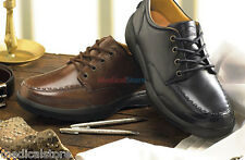 Eric - Dr Comfort Diabetic Shoes  - Oxford Dress Shoes -  Free Gel Inserts