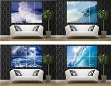 seascape waterscape sea Marine storm waves giant poster print picture photo art