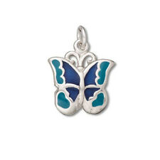 Silver .925 Enamel Charms--A Variety of Silver Charms in Beautiful Colors