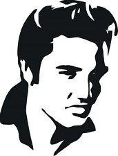 Young Elvis Presley T02 Vinyl Window Decal  Free Shipping