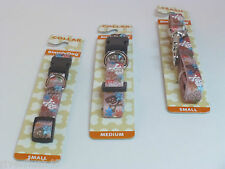 SIMPLY DOG  COLLAR OR LEASH SIZE SMALL SKULL THEME FOR SM OR TOY &  MED BREEDS