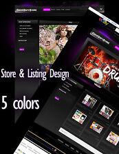 eBay Store Design , ebay Shop Design ,  eBay Listing Template Dynamic packaage