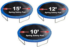 New Round Trampoline 18oz Replacement Safety Spring Pad Cover - Blue