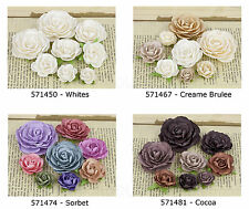 Prima * CHARLOTTE * MULBERRY PAPER FLOWERS * COLLECTION #2 * NEW 2013 *