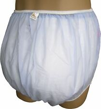 Baby Plastic Pants in Adult Sizes Blue Stars For Bedwetters