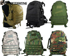 6Color Military Tactical US Army Hunting 3Day Molle Assault Backpack Bag Black A