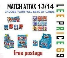 MATCH ATTAX 13/14 CHOOSE FULL SET OF CARDS, BASE, STAR, MOTM, 100 CLUB, LIMITED