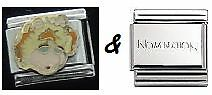 The Muppets UNBRANDED Italian charm and Nomination shiny bracelet link