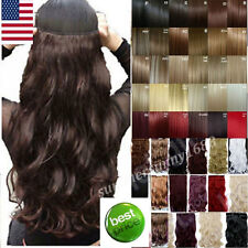cheap price clip in hair extensions Real quality Curly Straight 30 color US ssn