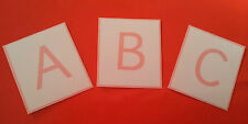 LETTERS A-Z - ALPHABET - 12 COLOURS TO CHOOSE FROM - EYFS RESOURCE LOWER/UPPER