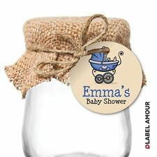 24 PERSONALISED Baby Shower Christening Party Favour Gift Tags | Brayden