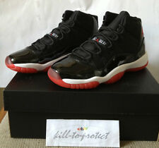 NIKE JORDAN 11 BRED GS Kids Sz 4.5Y 5Y 5.5Y Black Red 378038-010 Concord 2012