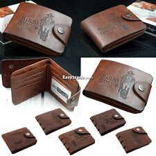 New Boy Classic Wallet Cards Holder Purse Hot Men Credit/ID Leather Pockets ESY1