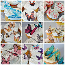 Edible Butterfly Cake Decorations Butterflies Cupcake Toppers Birthday Party Hen