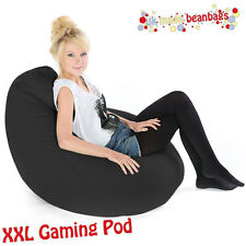 XXL Gaming Pod Bean Bags Beanbag - Faux Leather Bean Bag
