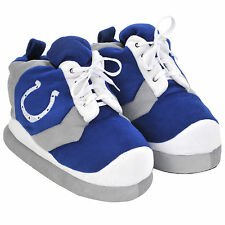 Colts SNEAKER SLIPPERS Colorblock - New - FREE USA SHIPPING - Indianapolis Colts