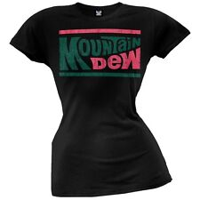 Mountain Dew - Distressed Logo Juniors T-Shirt