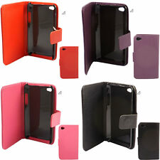 Flip Book Case Cover & Screen Protector  For Apple iPod Touch 4 4th Generation