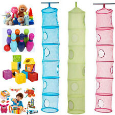 6 Compartment Hanging Storage IKEA FANGST Toy Store Children's Bedroom Organizer