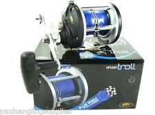 Lineaeffe B 300 or B 500 Boat Multiplier Reel Free Braid Fitted sea fishing