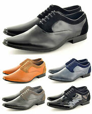 Mens Italian Styled Pointed Toe Winkle Pickers Formal Office  Shoes UK Size 6-11