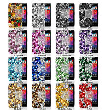 D Bling Crystal Gem Hard Skin Case Cover For Verizon Motorola Droid Razr 1 XT912