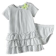 Carter's 2 Piece Tiered Ruffles Dress With Diaper Cover ~ Pick Your Size ~ NWT