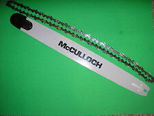 "MCCULLOCH 10-10, 700, 800, PRO MAC 55, 850, 805, 610 24"" OEM BAR & CHAIN COMBO"