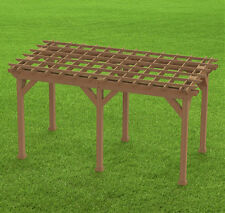 Garden Pergola 002 Woodworking DIY Plans-Easy to Build-Digital Building Plans